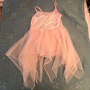 Other - Pink Leotard with attached tutu